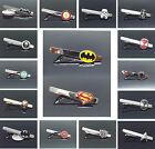 Hot Superman Batman Iron Man SUPERHERO JUSTICE LEAGUE Style Tie Clip Clasp