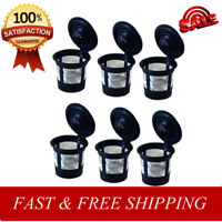 6PCS Reusable Refillable K-Cup Coffee Filter Pod for Keurig K50&K55 Coffee Maker