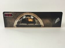 Custom Vintage Star Wars Jabba Palacio Display Stand de telón de fondo para Original Gris