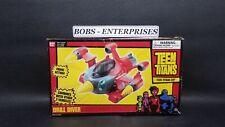 Teen Titans Go Drill Diver Vehicle Firing Action  box  little shelf worn tt-2