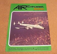 AIR Enthusiast Magazine #14 Boeing P-26 TSR 2 Lockheed Constellation Hampden