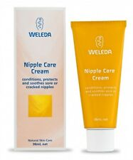WELEDA Nipple Care Cream 36ml conditions protects sooth sore or cracked nipples