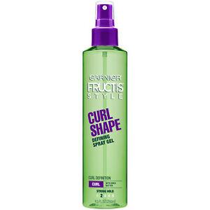 Garnier Fructis Style Curl Shape Defining Spray Gel For Curly Hair 8.5 fl oz