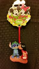 DISNEY STORE SKETCHBOOK CHRISTMAS ORNAMENT LILO KISSING STITCH 2012