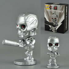 CAR Ornament 3D bobble head T-800 figure Movie Terminator 2 judgement day