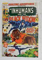 Marvel AMAZING ADVENTURES #7 Inhumans and the Black Widow -VF 1971 Vintage Comic