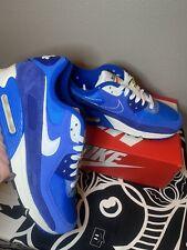Nike Air Max 90 SE -  UNC Signal Blue DB0636-400 DS HOT Summer Shoe