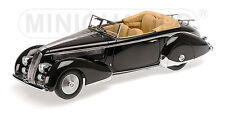 Minichamps 107125332 - LANCIA ASTURA TIPO 233 CORTO - 1936 BLACK L.E. 150  1/18