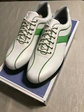Callaway Ladies Leather W206 Sport Thin Saddle Golf Shoes Waterproof Key LimeNEW