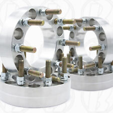 """x4 8x6.5 to 8x6.5 2"""" Wheel Spacers 8 Lug Adapter 