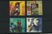 GB450) Great Britain 1999 Millennium Part IV - Settlers Tales 33-36 MUH