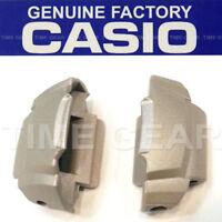 CASIO ORIGINAL FACTORY G-SHOCK GREY 2PC COVER END PIECES MTG900 MTG900DA MTG901