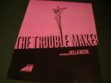 Della Reese The Trouble Maker Jesus on the cross 1971 Promo Display Ad
