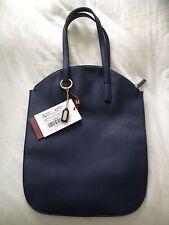 Max Mara Brand New Navy Shopper Bag