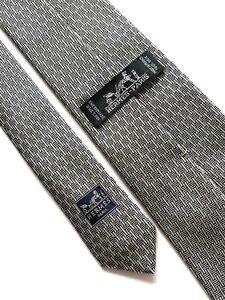 Hermes Paris Tie Silk 100%  Authentic 100% Made In France. Monogram