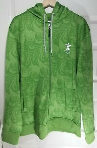 Olympics Vancouver 2010 Sunice First Nations Full Zip Hoodie Hooded Jacket XL