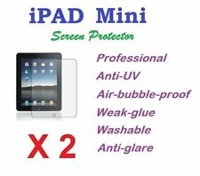 Apple iPad Mini Ultra Clear LCD Screen Protector Anti Glare Film X2 AU Stock