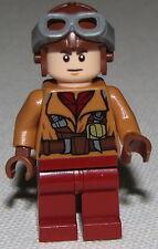 Lego New Star Wars Naboo Fighter Pilot Medium Dark Flesh Jacket 75092