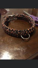 HANDMADE PARACORD DOG COLLARS