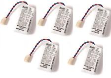 5 batterie al litio BAT05 BatLi05 3,6V 5,4Ah compatibile allarmi DAITEM LOGISTY