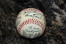 RARE 1962 Minnesota Twins Autograph Facsimile Signed Team Baseball Killebrew