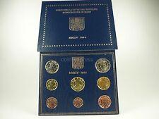 *** EURO KMS VATIKAN 2014 BU Kursmünzensatz Vaticano Coins Coin Set ***