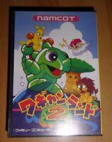 JEU GAME NAMCOT FAMICOM NES JAPANESE Wagan Land 2 FAMILY COMPUTER import JAPAN *