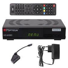 DVB-T2 Freenet TV Opticum HD AX360 HEVC Terrestrischer H.265 HDTV HD HEVC Irdeto