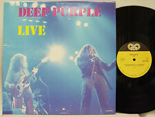 DEEP PURPLE - Live LP (RARE Dutch Import on DGR, Private Pressing) MINT-