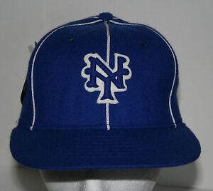 New York Black Yankees Baseball Negro League Cap Hat Roman 6 7/8 1990s NOS Tags