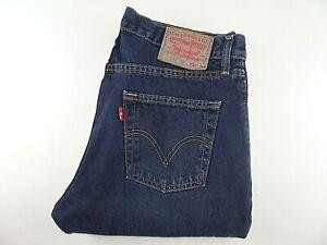 """LEVIS 751 Mens Jeans Blue Denim Straight Leg SIZE W32 L34 Waist 32"""" Leg 34"""" LEVI"""