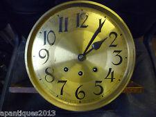 Original 1930s longcase resorte de reloj de péndulo impulsado chimeing MOVIMIENTO + ESFERA
