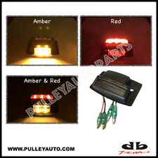 DBMOTOR Universal Under Body Wheel Well LED Auxiliary Indicator - Amber & Red
