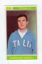 [LC40] FIGURINA CAMPIONI DELLO SPORT PANINI 1967/68 N. 522 TENNIS MAIOLI