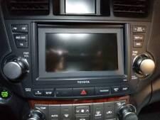 TOYOTA Highlander 2010-2012 GPS Navigation System Radio Frequency Knob