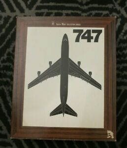 Aero Mini Eastern Airlines Boeing 747 Diecast Model with Original Box and Stand