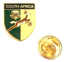 South Africa Shield Enamel Lapel Pin Badge T705