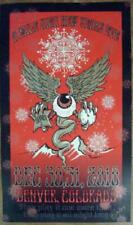 Widespread Panic Denver 2010 Concert Poster New Years Nye Wsp Silkscreen