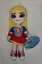 "DC Comics Super Hero Girls Supergirl 10"" Plush Superhero Toy Doll Figure NWT"