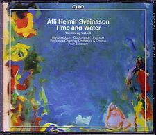 A.H. SVEINSSON b.1938 Time and Water Timinn og Vatnid PAUL ZUKOFSKY CPO 2CD Neu