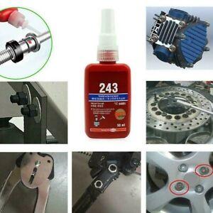 243 Thread Locking Agent Medium Strength,NEW 50ml Thread Glue Anaerobic Glue
