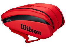Wilson Federer Dna 12Pk Bag Backpack Tennis Badminton Red 2020 Wr8006001001