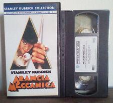 VHS FILM Ita Thriller ARANCIA MECCANICA stanley kubrick collection no dvd(VHS4)
