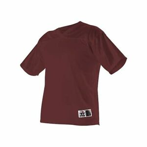 Alleson Athletic Fanwear Football Jersey - Maroon, S