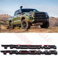 2016-2020 TOYOTA TACOMA TRD OFF ROAD BLACKOUT EMBLEM OVERLAY KIT OEM