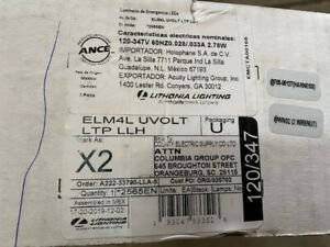 ELM4L UVOLT LTP LLH LED Emergency Light