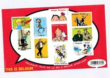 D146459(1) Belgium Imperforate S/S MNH Cartoons Hergé This is Belgium