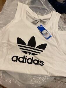 Mens Adfidas Sports Vest Size L
