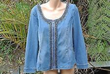 Denim Machine Washable Basic Coats & Jackets for Women