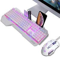 Gaming Wired Tastatur Maus Set Mechanische Fühlen Sich für Laptop Pc mit